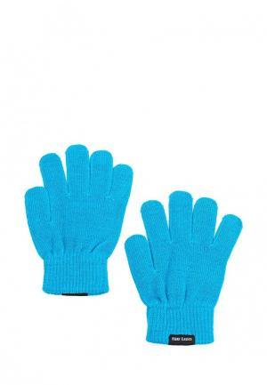 Перчатки Urban Classics. Цвет: голубой