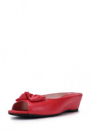 Сабо Pierre Cardin. Цвет: красный