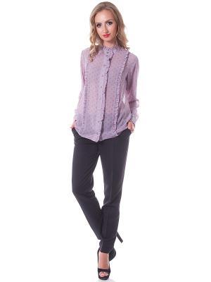Блузки OKS by Oksana Demchenko. Цвет: серый, розовый