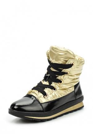 Ботинки Keddo. Цвет: золотой