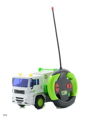 Машина р/у грузовик-контейнерный мусоровоз Drift. Цвет: зеленый