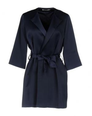 Легкое пальто PAOLO CASALINI. Цвет: темно-синий