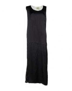 Длинное платье JIJIL. Цвет: темно-синий