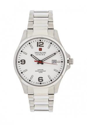 Часы Swiss Military. Цвет: серебряный