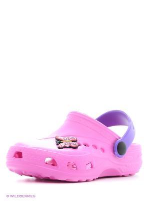 Сабо Дюна. Цвет: розовый, лиловый