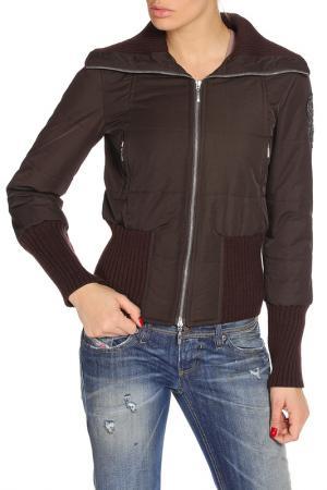 Куртка утепленная Imperial. Цвет: коричневый