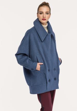 Пальто Stimage. Цвет: синий