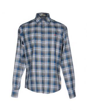 Pубашка MCS MARLBORO CLASSICS. Цвет: грифельно-синий