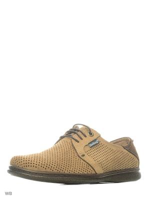 Ботинки Shoiberg. Цвет: светло-желтый