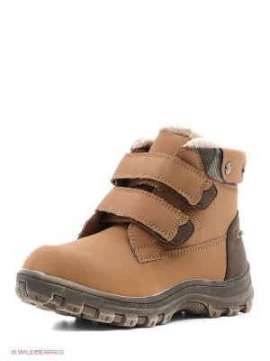 Ботинки Centro. Цвет: светло-коричневый