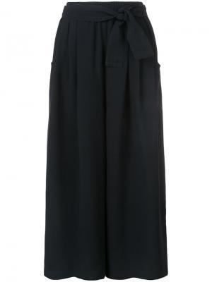Укороченные брюки-палаццо Tome. Цвет: чёрный