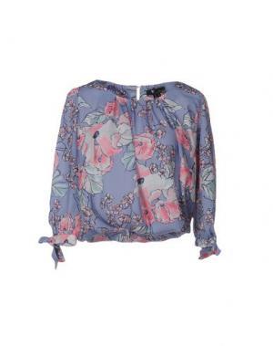 Блузка CUTIE. Цвет: сиреневый