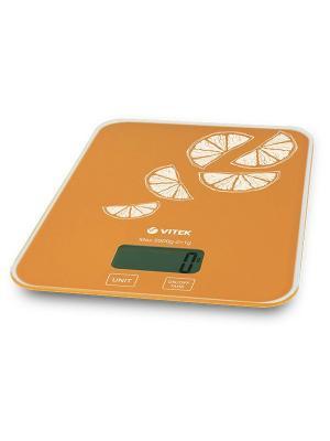 Кухонные весы Vitek VT-2416(OG). Цвет: оранжевый