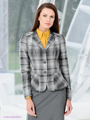 Жакет Classic Style. Цвет: серый