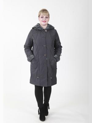 Пальто Татьяна VIKO. Цвет: серо-голубой