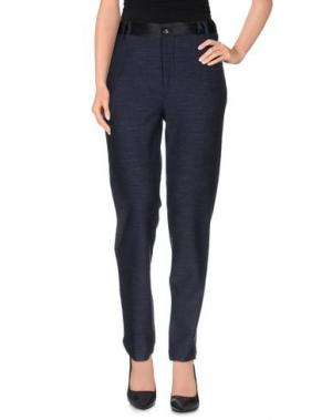 Повседневные брюки TRUE TRADITION. Цвет: темно-синий