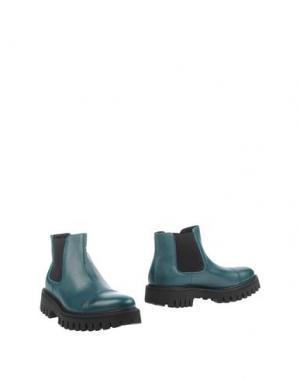 Полусапоги и высокие ботинки BRUNO BORDESE. Цвет: изумрудно-зеленый