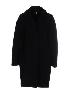 Легкое пальто 1-ONE. Цвет: черный