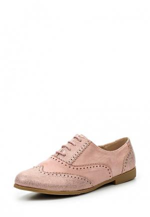 Ботинки Girlhood. Цвет: розовый
