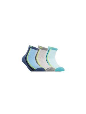 Носки Active Conte Kids. Цвет: бирюзовый, серый, синий