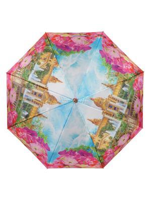 Зонт Plaza de Espana DAIS. Цвет: бирюзовый, розовый