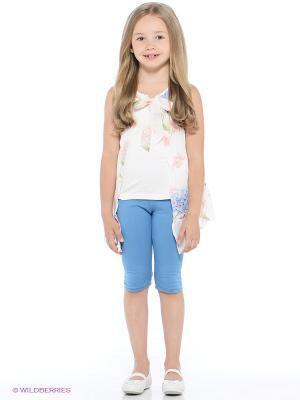 Комплект Monna Rosa. Цвет: голубой, молочный