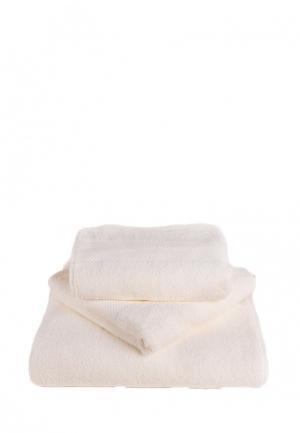Комплект полотенец 3 шт. Bellehome. Цвет: белый