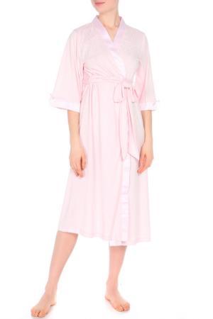 Халат Relax Mode. Цвет: розовый