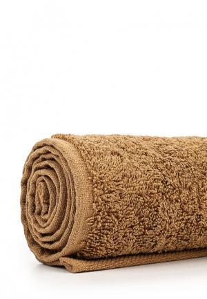 Полотенце Arloni. Цвет: коричневый
