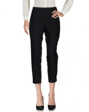 Повседневные брюки CIVIDINI. Цвет: черный