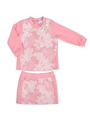Комплект Бимоша. Цвет: розовый