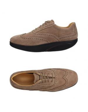 Обувь на шнурках MBT. Цвет: хаки