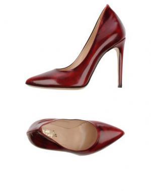 Туфли F.LLI BRUGLIA. Цвет: красно-коричневый
