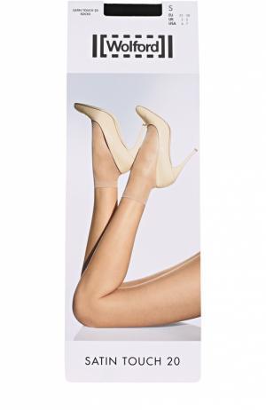 Капроновые носки Wolford. Цвет: черный