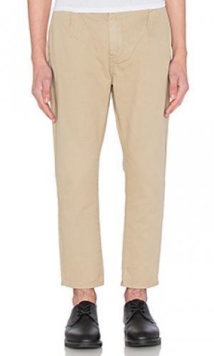 Узкие брюки stubs ROLLAS ROLLA'S. Цвет: цвет загара