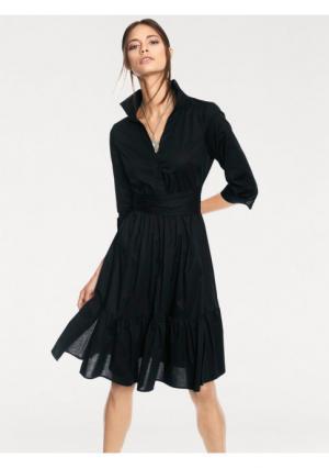 Платье RICK CARDONA by Heine. Цвет: оливковый, черный