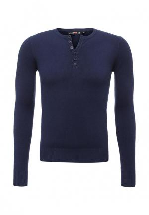 Пуловер Just Key. Цвет: синий