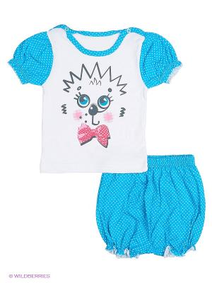 Комплект одежды Апрель. Цвет: голубой