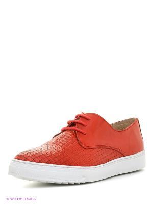 Ботинки Benta. Цвет: красный