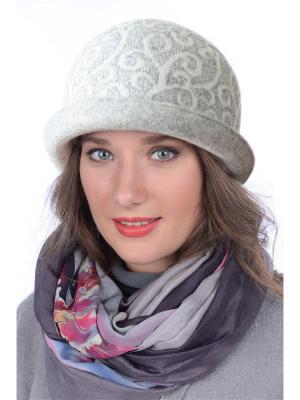 Шляпа Сиринга. Цвет: светло-серый, молочный