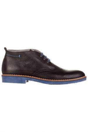 Ботинки CASTELLANISSIMOS. Цвет: черный