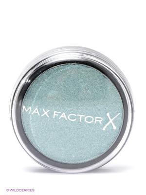 Тени одноцветные Wild Shadow Pots Eyeshadow 30 тон turquoise fury MAX FACTOR. Цвет: светло-зеленый