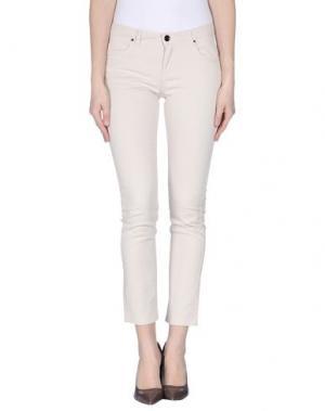Джинсовые брюки FAIRLY. Цвет: бежевый