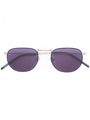 Солнцезащитные очки Drivers Seat Smoke X Mirrors. Цвет: чёрный
