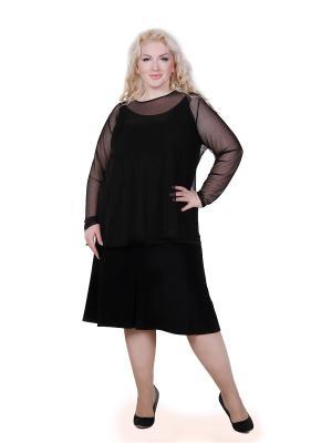 Блуза Мечты Данаи. Цвет: черный