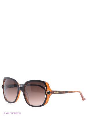 Солнцезащитные очки MI 781S 02 Missoni. Цвет: черный, оранжевый