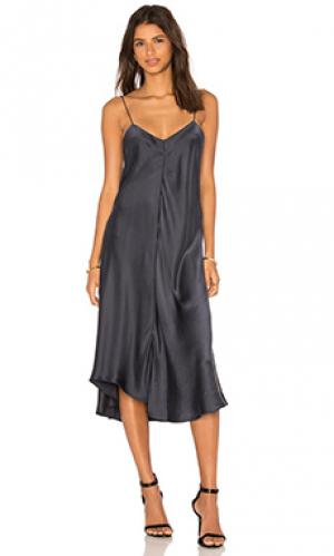 Платье-комбинация wave KES. Цвет: синий