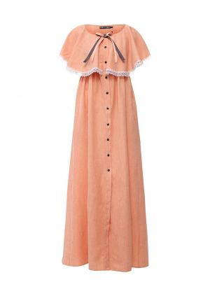 Платье Love & Light. Цвет: оранжевый