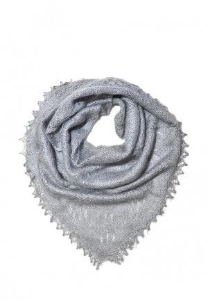 Шаль ОренбургШаль. Цвет: серый