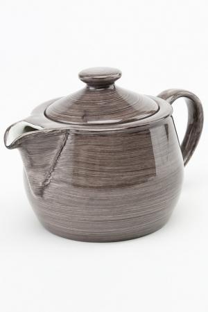 Чайник, 500 мл CONTINENTAL. Цвет: серый